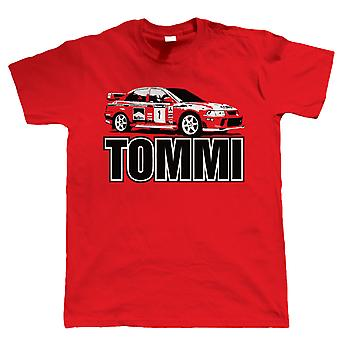 Vectorbomb, Tommi, Mens Evo Rally Car T-Shirt (S to 5XL)