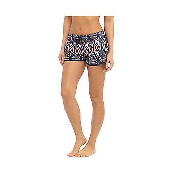 Dame damer Ikat Tribal Print elastik Summer Holiday Beach Shorts