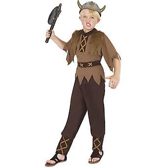 バイキング衣装バイキング野蛮な子供用コスプレ衣装