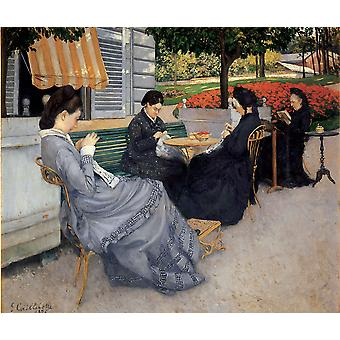 Gustave Caillebotte - Casin Poster Print Giclee