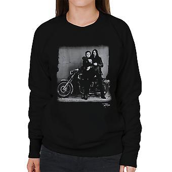 Ian Astbury And Renee Beach Motorbike Women's Sweatshirt