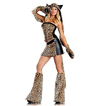 Be Wicked BW1291 6 Piece Lusty  Costume