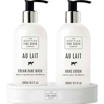 Scottish Fine Soaps Au Lait Hand Care Collection