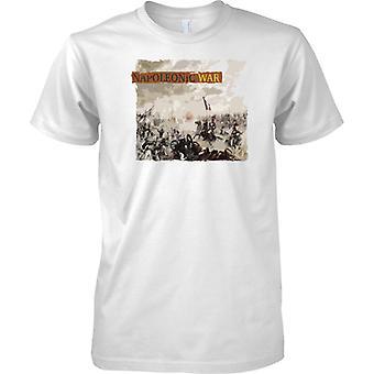 Napoleonic War - Battle Of Waterloo - Mens T Shirt