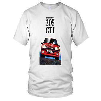 Peugot 205 GTI Retro Clasic Car Mens T Shirt