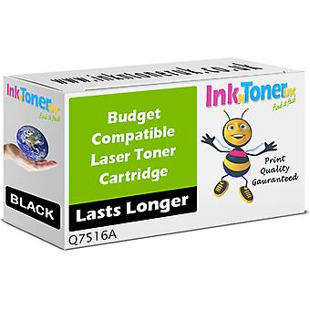Compatible HP 16A Black Q7516A Cartridge for HP LaserJet 5200L