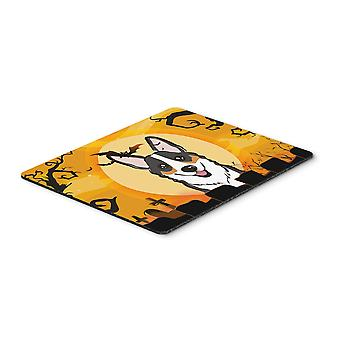 Halloween Tricolor Corgi Mouse Pad, Hot Pad or Trivet