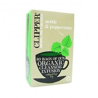 Clipper - Organic Nettle & Peppermint 20bag