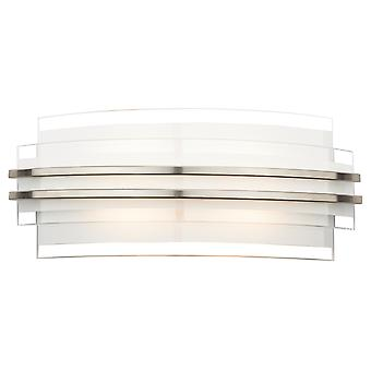 Sector Double Trim Led Wall Bracket Large
