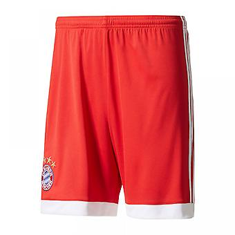 2017-2018 Bayern Munich Adidas Home Shorts (Red)