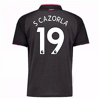 2017 / 18 arsenal tredje skjorte (S Cazorla 19)