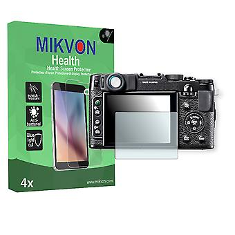 Fujifilm X10 Screen Protector - Mikvon Health (Retail Package with accessories)