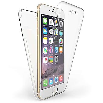 iPhone 6 / 6S Plus helkropps 360 TPU Gel fodral - Clear