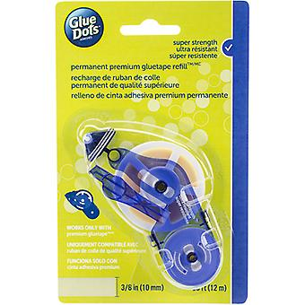 Glue Dots Tape Refill-Permanent .375