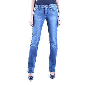 7 for all mankind ladies MCBI004009O Blau cotton of jeans