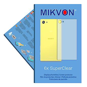 Sony Xperia Z5 Compact reverse screen protector- Mikvon films SuperClear