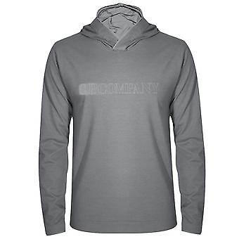 C.P. Company C.P. Company Grey Hooded T-Shirt