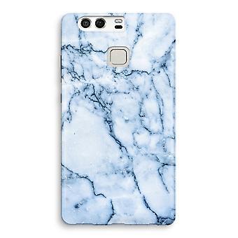 Huawei P9 Full Print Case - Blue marble