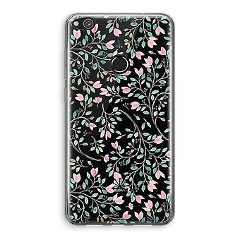 Huawei Ascend P8 Lite (2017) Transparant fall - nätta blommor