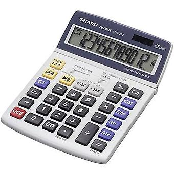 Desktop calculator EL-2125 C Sharp EL2125C Grey