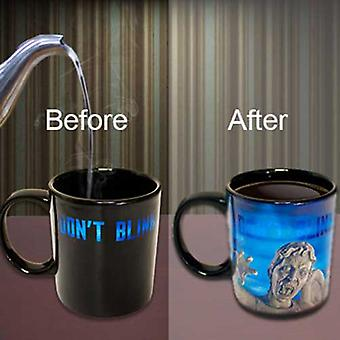 Doctor Who Weeping Angel Heat Changing Mug