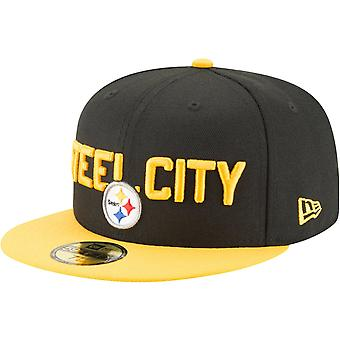 New Era 59Fifty Cap - NFL 2018 DRAFT Pittsburgh Steelers