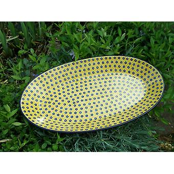 45.5 x 27 cm, plate, oval, tradition 20 - BSN 60101
