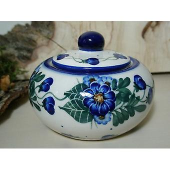 Azúcar / jam jar, única 48 - vajilla de cerámica de Bunzlau - BSN 6605
