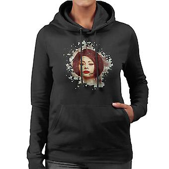 Sophia Loren At The Savoy Shooting Operation Crossbow 1964 Women's Hooded Sweatshirt