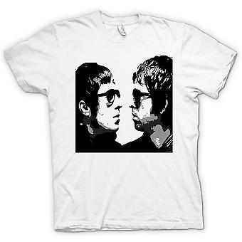 Womens T-shirt - Liam And Noel - Oasis