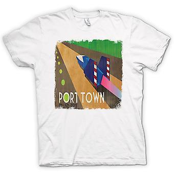 Womens T-shirt - F Zero Port Town - Grand Prix - Gamer