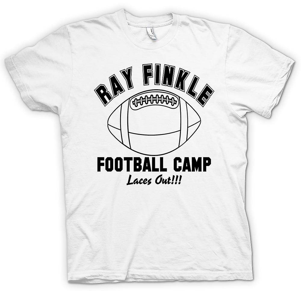 Womens T-shirt - Ray Finkle Football Camp, Laces Out - Quote