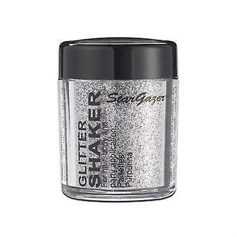Stargazer Glitter fastueux Shaker en acier gris