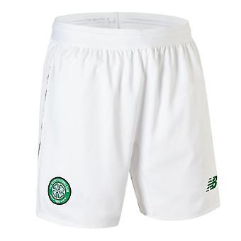 2018-2019 Celtic Home Shorts (White) - Kids