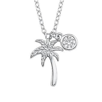 s.Oliver jewel children and teens necklace-Silver Palm 2015023