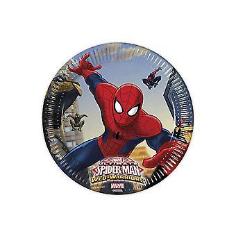 Beaker mug Cup Spiderman warriors kids party birthday 200 ml 8pcs