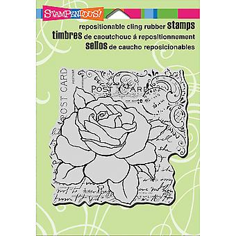 Stampendous Cling Stamp 6,5