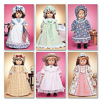 18 Doll Clothes-One Size Only -*SEWING PATTERN*