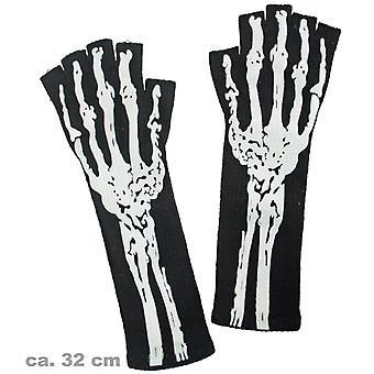 Str lucky black skeleton bones Halloween accessory
