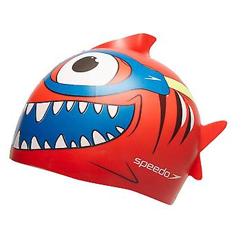 Speedo Sea Squad Silicone Junior Swimming Cap