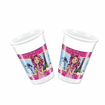 MIA & me Elf Unicorn party Cup drinking cups 200ml 8 piece children birthday theme party