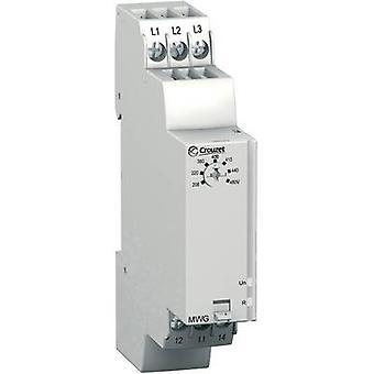 Control relé 208-480 V CA 1 paso 1 PC Crouzet