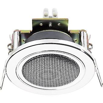 Flush mount speaker Monacor SPE-82/CR 12 W 4 Ω Chr