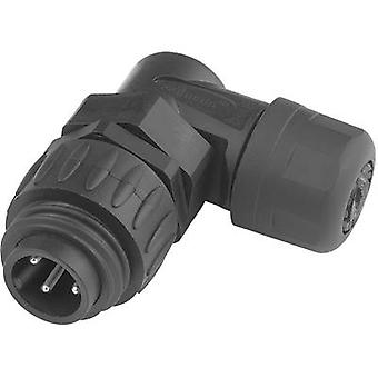 Amphenol C016 10K006 000 12 Bullet connector Plug, right angle Series (connectors): C016 Total number of pins: 6 + PE 1 pc(s)