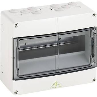 Spelsberg 73641201 Aki 12 Distribution board Surface-mount No. of partitions = 12 No. of rows = 1