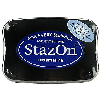 StazOn Solvent Ink Pad-Ultramarine