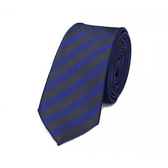 Tie slips tie slips 6cm lila Mörkgrå randig Fabio Farini