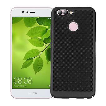 Mobile Shell voor Huawei honor 9 mouw zaak tas cover case zwart
