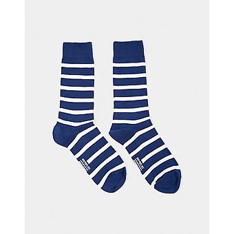 Armor Lux Chaussettes Homme Socks Navy & White - Navy