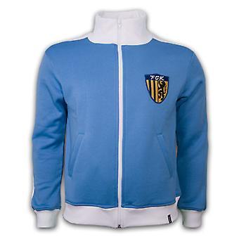 FC Karl-Marx-Stadt 1970's Retro Jacket  polyester / cotton